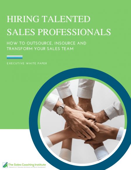 Hiring Talented Sales Professionals Whitepaper Cover