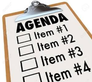 Agenda-Checklist