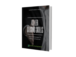Killer Closing Skills White Paper