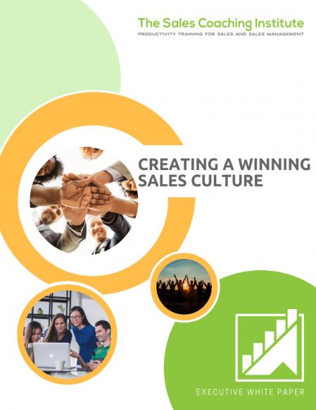 Create a Sales Culture_Cover