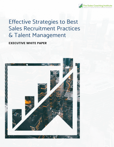 Effective Strategies to Best Sales Recruitment Practices & Talent Management Whitepaper_Cover