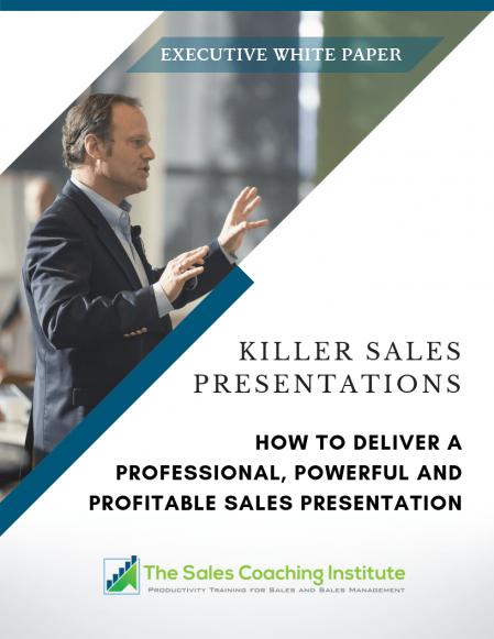 Killer Sales Presentation Whitepaper Cover