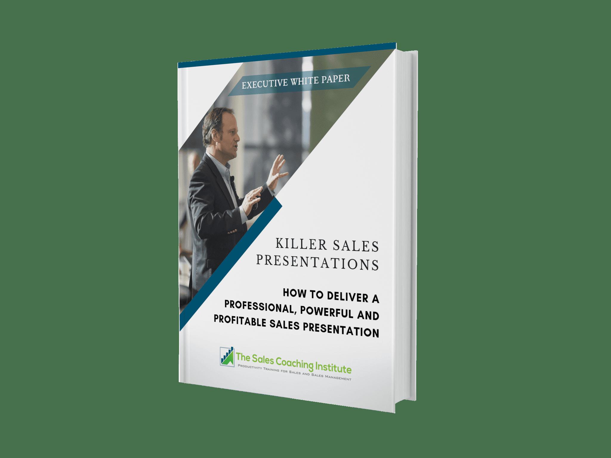 Killer Sales Presentations White Paper