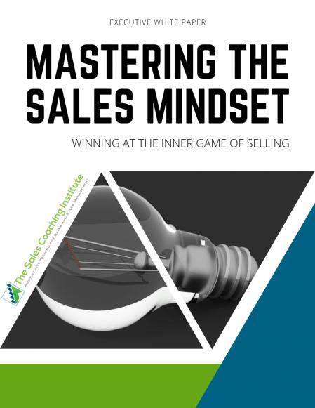 Sales Mindset Whitepaper Cover
