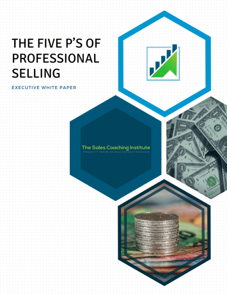 The Five P's of Professional Selling Whitepaper_Cover