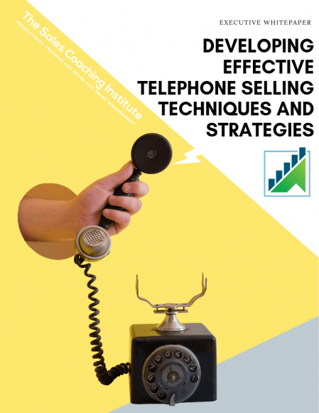 Developing Effective Telephone Selling Techniques and Strategies_Cover