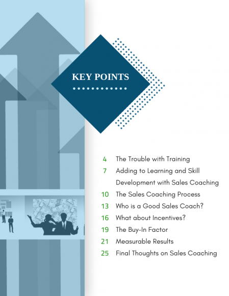 Implement Sales Coaching Process Whitepaper_Index