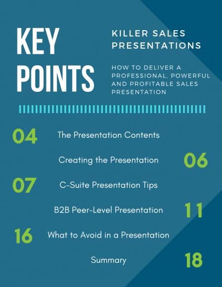 Killer Sales Presentation Whitepaper_Index