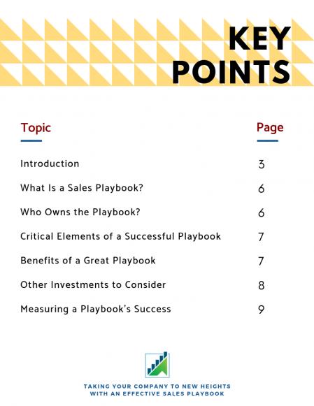 Sales Playbook Whitepaper_Index
