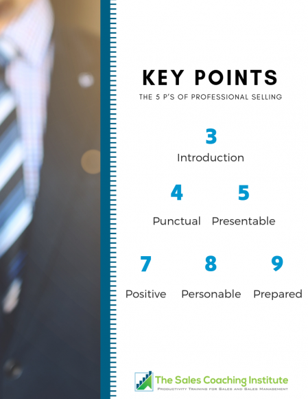 The Five P's of Professional Selling Whitepaper_Index