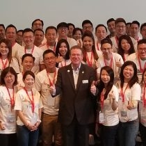 Doug with Asian Audiences